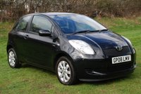 USED 2008 08 TOYOTA YARIS 1.4 TR D-4D SPECIAL EDITION [89 BHP] 3 Door Hatchback