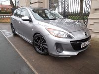 USED 2012 62 MAZDA 3 1.6 TAMURA D 5d 113 BHP £ 30 A YEAR ROAD TAX AIR/CON PARKING SENSORS ALLOY WHEELS FRONT FOGS REAR SPOILER CD AUX SOCKET  *** FINANCE & PART EXCHANGE WELCOME ***