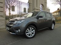 USED 2014 14 TOYOTA RAV4 2.0 D-4D INVINCIBLE AWD 5d 124 BHP ***4 X 4*** DIESEL***FULL LEATHER*****REVERSING CAMERA*** FINANCE AVAILABLE *** PART EXCHANGE WELCOME ****