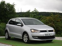 USED 2012 12 VOLKSWAGEN POLO 1.4 MATCH 5d 83 BHP ONE OWNER FROM NEW AIR CON CD PLAYER ALLOYS AUX IN MEDIA INTERFACE