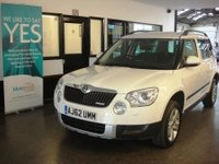 USED 2013 62 SKODA YETI 1.6 ELEGANCE GREENLINE II TDI CR 5d 103 BHP One private owner, Full Skoda service history, January 2018 Mot, £30 road tax & lovely specification
