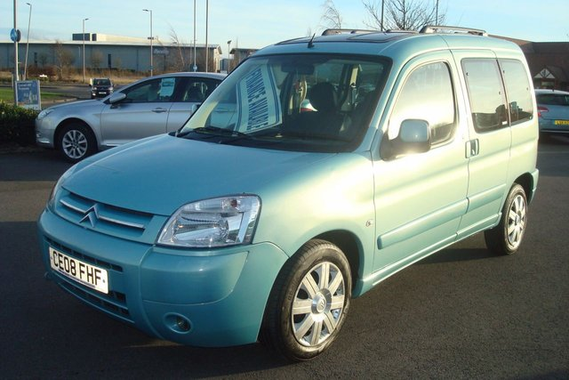 2008 08 CITROEN BERLINGO 1.6 MULTISPACE DESIRE 16V 5d 108 BHP LOW MILEAGE