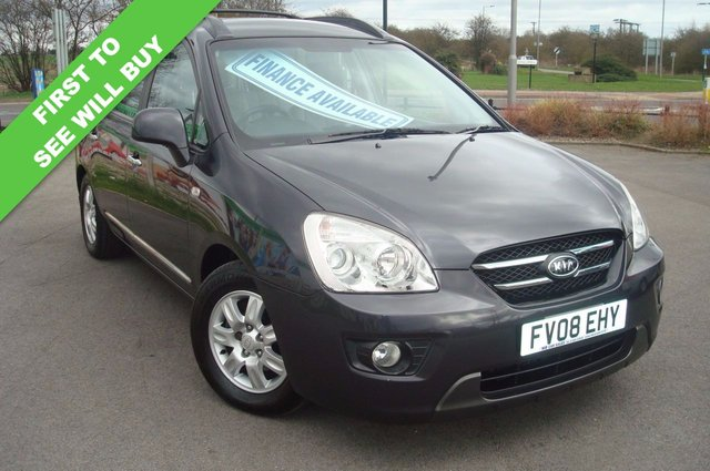 2008 08 KIA CARENS 2.0 GS CRDI 5d 138 BHP 7 SEATER DVD PLAYER