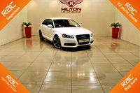 "USED 2011 11 AUDI A3 2.0 TDI BLACK EDITION 3d 138 BHP 18"" TTRS Rotor Style Grey/Pol Alloys ++ Full Service History"