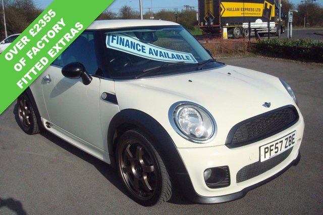 2007 57 MINI HATCH ONE 1.4 ONE 3d 94 BHP FULL JOHN COOPER WORKS BODYSTYLING