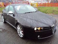 USED 2010 10 ALFA ROMEO 159 1.9 JTDM 16V TI 4d 150BHP FSH+LEATHER TRIM+18 INCH ALLOY