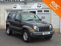 USED 2006 06 JEEP CHEROKEE 2.8 PIONEER CRD 1d 161 BHP Full Leather , Heated Seats