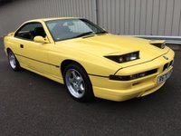 USED 1997 BMW 8 SERIES 4.4 V8 840CI SPORT AUTO 286 BHP M SPORT COUPE RARE DAKAR YELLOW WITH BLACK LEATHER