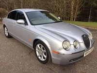 USED 2004 04 JAGUAR S-TYPE 2.7 V6 SE 4d 206 BHP 6 MONTHS PART AND LABOUR WARRANTY