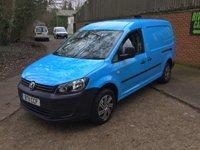 2011 VOLKSWAGEN CADDY MAXI 1.6 C20 TDI 1d 101 BHP £5850.00