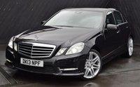 2013 MERCEDES-BENZ E CLASS 2.1 E250 CDI BLUEEFFICIENCY SPORT 4d AUTO 204 BHP £15490.00