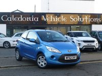 USED 2012 62 FORD KA 1.2 Edge 3dr (start/stop) OCTOBER 2017 MOT
