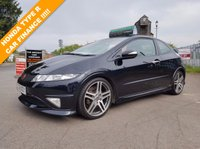 USED 2008 58 HONDA CIVIC 2.0 I-VTEC TYPE-R GT 3d 198 BHP THE CAR FINANCE SPECIALISTS