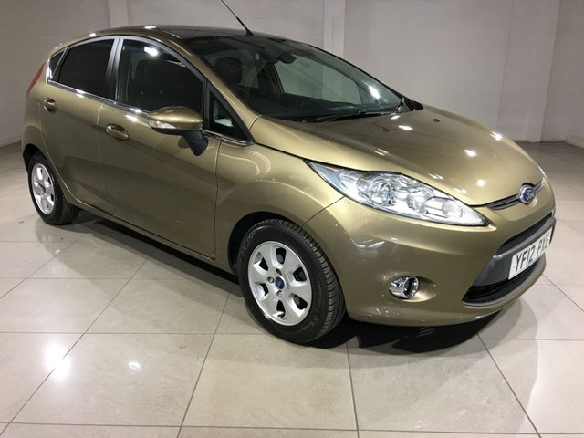 View our 2012 12 FORD FIESTA 1.6 TITANIUM ECONETIC II TDCI 5d 94 BHP