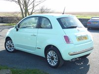 USED 2015 15 FIAT 500 1.2 LOUNGE 3d 69 BHP WITH 1 YEAR FREE AA MEMBERSHIP**