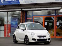 USED 2014 14 FIAT 500 1.2 S 3dr * Part Leather * *ONLY 9.9% APR*