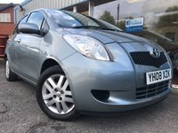 USED 2008 08 TOYOTA YARIS 1.3 TR VVTI 5d 86 BHP AIR CON, ALLOYS!