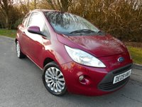 USED 2009 09 FORD KA 1.2 ZETEC 3d 69 BHP *Insurance Group 2.  £30 road Tax*