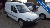 2009 VAUXHALL COMBO VAN 2000 1.3CDTI  73 BHP VAN WITH AIR-CONDITIONING £3750.00