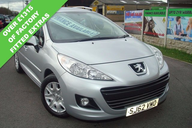 2012 62 PEUGEOT 207 1.6 HDI SW ACTIVE 5d 92 BHP SAT NAV £20 A YEAR ROAD TAX