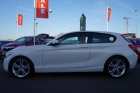 USED 2014 14 BMW 1 SERIES 1.6 116I SPORT 3d AUTO 135 BHP One private owner/ Full red leather interior