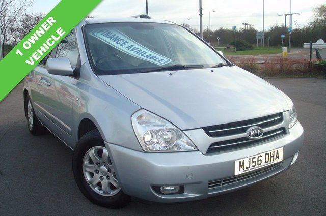 2006 56 KIA SEDONA 2.9 LS 5d 183 BHP 7SEATER 1 OWNER FROM NEW