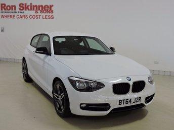 2014 BMW 1 SERIES 2.0 116D SPORT 3d 114 BHP £12999.00