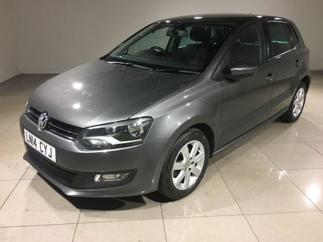 View our 2014 14 VOLKSWAGEN POLO 1.4 MATCH EDITION DSG 5d AUTO 83 BHP