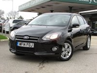 USED 2014 14 FORD FOCUS 2.0 TITANIUM NAVIGATOR TDCI 5d 139 BHP Check out our 5* Reviews!