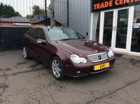 USED 2006 MERCEDES-BENZ C CLASS 1.8 C180 KOMPRESSOR SE SPORTS 3d AUTO 141 BHP