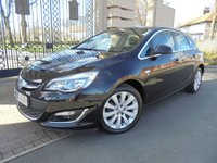 USED 2014 63 VAUXHALL ASTRA 1.6 ELITE 5d AUTO 115 BHP ****FINANCE ARRANGED***PART EXCHANGE***1 OWNER*FULL LEATHER*CRUISE CONTROL**