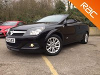 2010 VAUXHALL ASTRA 1.8 TWIN TOP SPORT 3d 140 BHP ONLY 62,000 MILES  £4290.00
