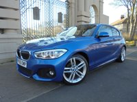 USED 2015 65 BMW 1 SERIES 1.5 116D M SPORT 3d 114 BHP *1 OWNER* *UNDER WARRANTY UNTIL 30/12/2018* *SAT NAV **CRUISE CONTROL* *BLUETOOTH* *AUX AND USB SOCKETS* *AUTO STOP START*  *****FINANCE ARRANGED***PART EXCHANGE***