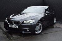 2013 BMW 5 SERIES 2.0 520D M SPORT 4d AUTO 181 BHP £18950.00