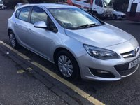 USED 2013 13 VAUXHALL ASTRA 1.2 EXCLUSIV CDTI 5d 95 BHP PRICE INCLUDES A 6 MONTH AA WARRANTY DEALER CARE EXTENDED GUARANTEE, 1 YEARS MOT AND A OIL & FILTERS SERVICE. 6  MONTHS FREE BREAKDOWN COVER