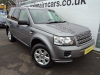 USED 2013 13 LAND ROVER FREELANDER 2.2 TD4 GS 5d 150 BHP Heated Leather Seats And Bluetooth Phone