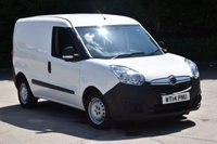 USED 2014 14 VAUXHALL COMBO VAN 1.2 2000 L1H1 CDTI 5d 90 BHP SWB FWD CORSA DIESEL MANUAL VAN  ONE OWNER,MANUFACTURE WARRANTY,EURO 5 ENGINE