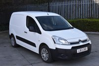 2013 CITROEN BERLINGO 1.6 625 ENTERPRISE L1 HDI 5d 74 BHP SWB DIESEL MANUAL VAN  £5390.00