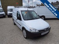 USED 2008 58 VAUXHALL COMBO VAN 2000 1.3CDTi 16v 73 BHP VAN WITH SIDE LOAD DOOR EX - BT - FSH - ONLY 78,000m