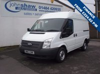 2013 FORD TRANSIT 125T 280 2.2TDCi SWB MEDIUM ROOF 6 SPEED VAN WITH SECURITY LOCKS - EURO 5 £8695.00