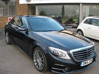 USED 2014 14 MERCEDES-BENZ S CLASS 3.0 S350 BLUETEC AMG LINE EXECUTIVE 4d AUTO 258 BHP Many options One private owner