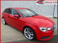 "USED 2015 64 AUDI A3 1.6 TDI SPORT 5dr 109 BHP   19""ALLOYS AND PRIVACY GLASS"