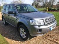 USED 2012 61 LAND ROVER FREELANDER 2.2 TD4 GS 5d 150 BHP PARK ASSIST, BLUETOOTH, DAB RADIO