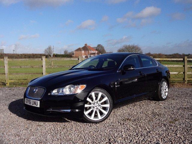 2011 61 JAGUAR XF 3.0 TD V6 Luxury 4dr