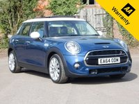 USED 2014 64 MINI HATCH COOPER 2.0 COOPER S 5d 189 BHP
