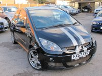 USED 2007 57 MITSUBISHI COLT 1.5 CZT BLACK HAWK 3d 148 BHP TURBO 1 0F ONLY 200 MADE