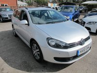 USED 2010 10 VOLKSWAGEN GOLF 1.6 SE TDI DIESEL ESTATE PANORAMIC SUNROOF + L MILES