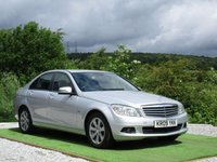 USED 2009 09 MERCEDES-BENZ C CLASS 1.6 C180 KOMPRESSOR BLUEEFFICIENCY SE 4d AUTO 156 BHP