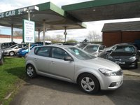 2009 KIA CEED 1.4 1 5d 89 BHP £3495.00