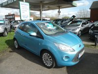 2011 FORD KA 1.2 ZETEC 3d 69 BHP £3995.00